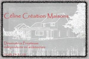 carte de visite à terminer céline création maison