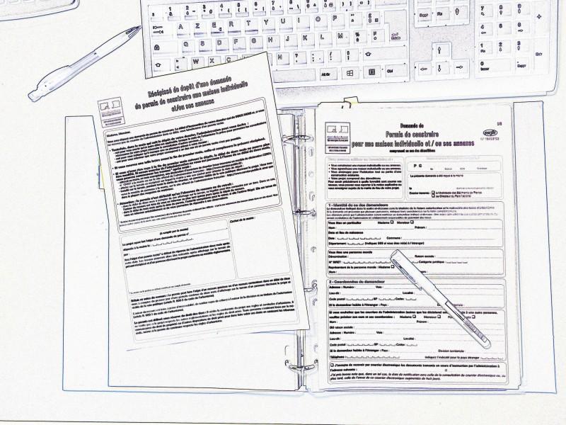 C line cr ation maison permis de construire for Formulaire cerfa 13703