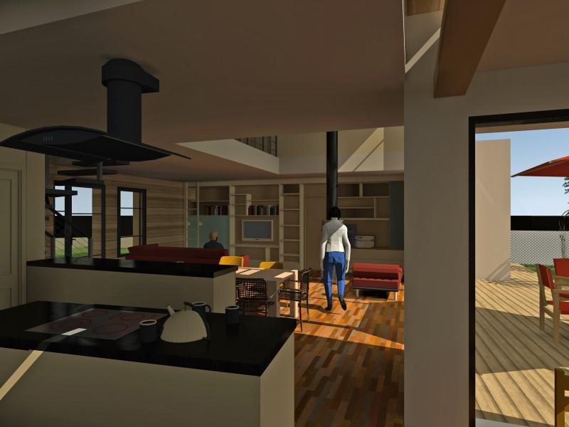 Un projet de maison contemporaine for Projet maison moderne