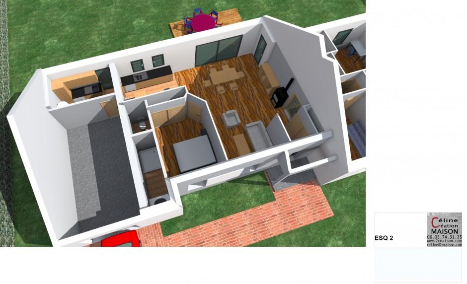 Projet  maison Individuelle Plain-Pied